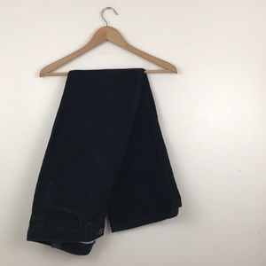 Tommy Hilfiger Black Corduroy Pants